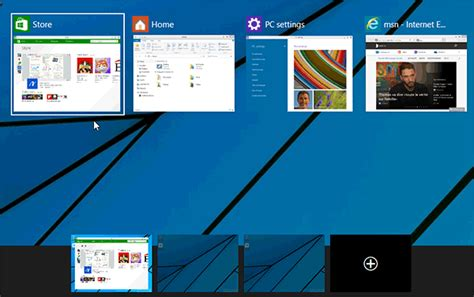 Bureaux Virtuels Windows 10  Déplacer Les Applications D