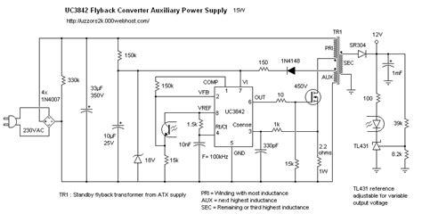 led len 12v trafo adapter 12v đơn giản với ic 3842 v 224 biến 225 p cấp trước