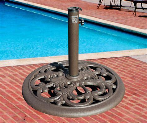 cast iron umbrella base stand 30lb