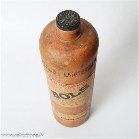 Keramikas pudele, Erven Lucas Bols Z.O. Genever