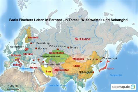 stepmap russland bis wladiwostok landkarte fuer russland