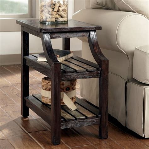 mestler chairside end table mestler chairside end table signature design by