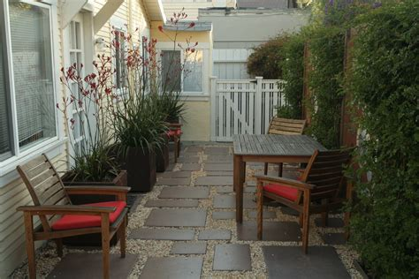 small side porch ideas patio paver ideas patio traditional with courtyard gravel outdoor furniture patio plant pots