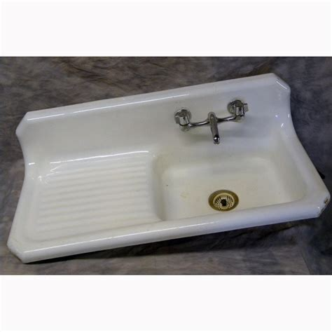 enameled cast iron kitchen sinks antique cast iron enameled kitchen sink 8868