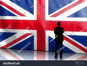 Silhouette Of A British Politician With Arms Crossed On ...