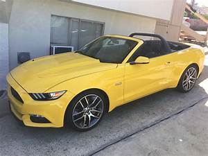 Anyone modded the exterior of a yellow convertible? - The Mustang Source - Ford Mustang Forums