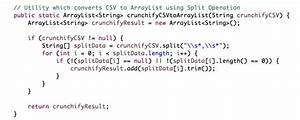 How to Read and Parse CSV (Comma Separated Values) File to ...