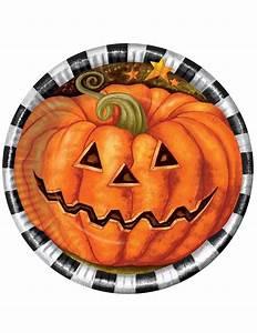 Teller Schwarz Weiß : k rbis teller halloween tischdeko 6 st ck orange schwarz weiss 23cm g nstige faschings ~ Eleganceandgraceweddings.com Haus und Dekorationen