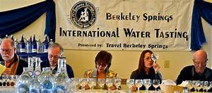 The world's biggest water tasting event. (Yes, really ...