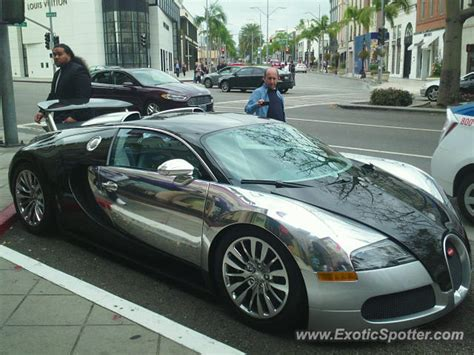 Bugatti Veyron Spotted In Beverly Hills, California On 11