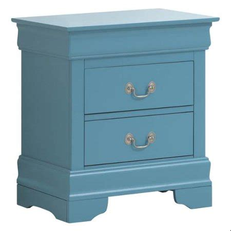 Teal Nightstand by Nightstand In Teal Finish Walmart