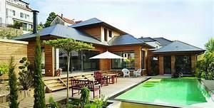 Superbe Maison Bois Design Avec Piscine Vaucresson Hauts