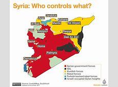 Syria Who controls what? ISIS Al Jazeera