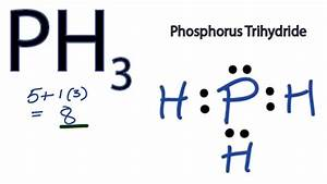Ph3 Lewis Structure - How To Draw The Lewis Structure For Ph3