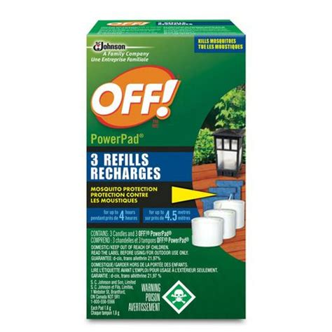 174 powerpad mosquito l refills lawn garden