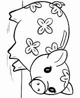 Coloring Piggy Pages Bank Toy Pig Printable Colouring Animal Sheets Clipart Flower Disney Chinese Coloringhome Crafts Painting Banks Favorite Toys sketch template