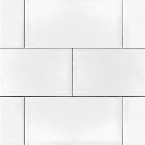 white 3x6 glossy subway tile 3x6 box of 10 square
