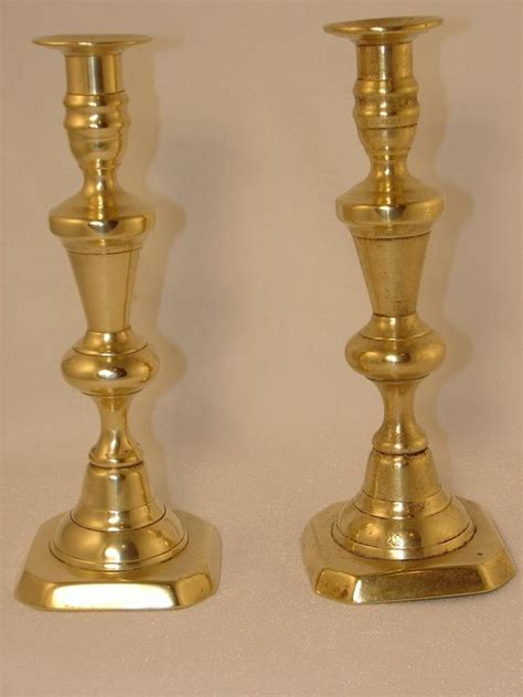 candlestick ls for sale pair brass candlesticks 9 75 h for sale antiques com
