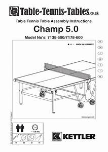 Kettler Champ 5 0 User Manual  Parts List And Build