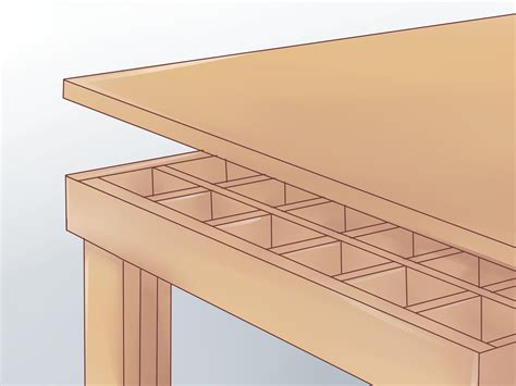 build  torsion box workbench top  pictures