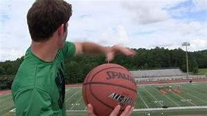 Brodie Smith's First Basketball Trick Shot - YouTube