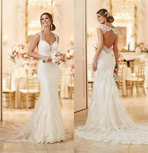 2016 stella york 6245 wedding dresses with open back and With stella york wedding dress prices