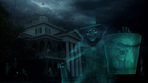 Disney World Haunted Mansion Wallpaper