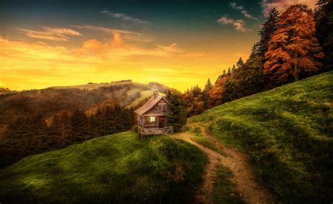 Landscape 4k Image by Wallpaper House Landscape Forest Switzerland 4k