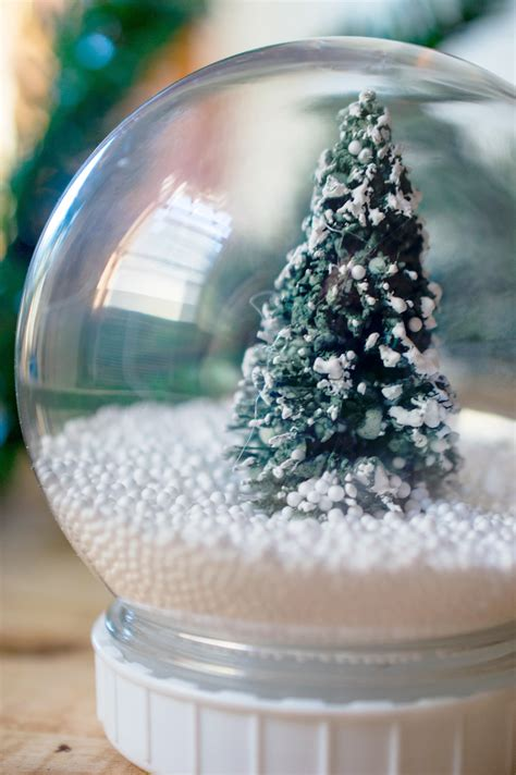 diy christmas tree snow globe extreme couponing mom