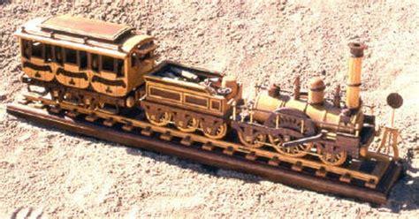 steam locomotive woodworking plans train plan railroad