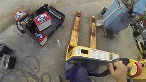 Equipment Repair  Pallet Jack Batteries