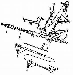 Ford Thunderbird Rack And Pinion Assembly