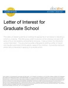 100 exle of letters of interest 8 best images of