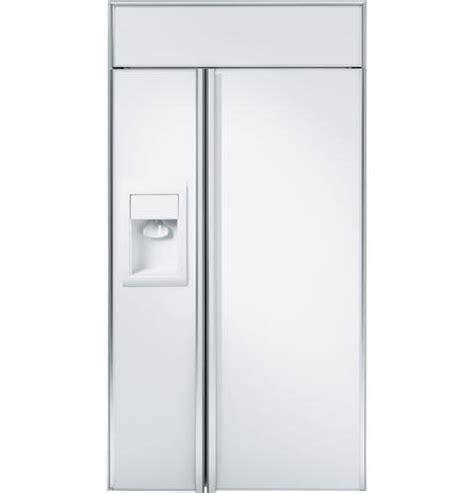 ziswdx ge monogram  built  side  side refrigerator  dispenser monogram appliances