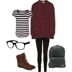 Cute Lazy-Day Outfit for School