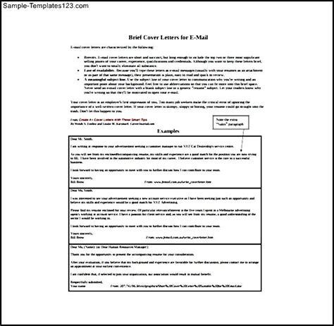 resume cover letter sle pdf cover letter sle for