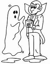 Ghost Coloring Halloween Dracula Drawings Printable Sheets Cartoon Popular Talking Bestcoloringpagesforkids sketch template