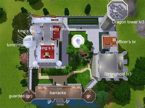 free modern house plans mod the sims the fairytale sky castle base on the