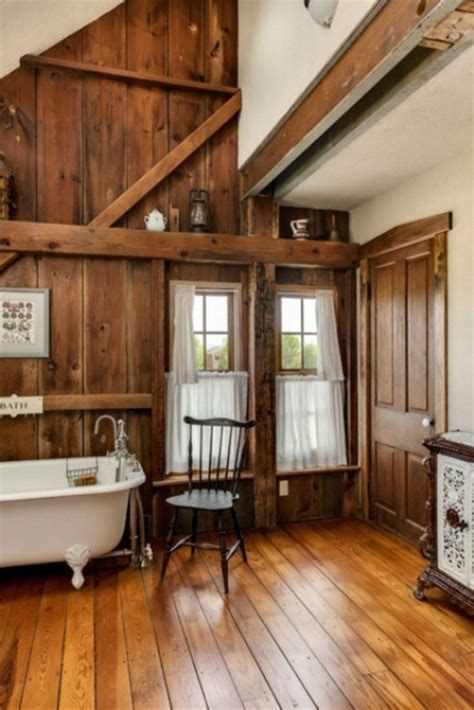 rustic bathroom design ideas rural barn outfit