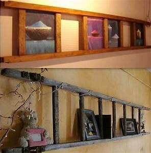 Echelle En Bois Déco : id es r cup et recyclage chelle en bois ~ Dailycaller-alerts.com Idées de Décoration