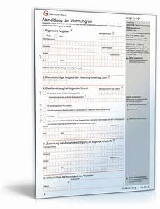 Kfz Versicherung Berechnen Ohne Anmeldung : gez abmeldung privat vorlage zum download ~ Themetempest.com Abrechnung
