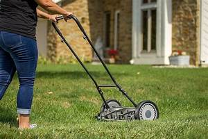 Staysharp Reel Lawn Mower Manual Push Non