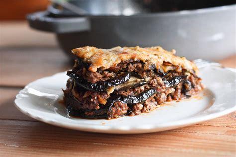 moussaka recipe rustic eggplant moussaka