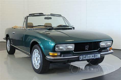 peugeot cabriolet peugeot 504 cabriolet 1976 for sale at erclassics