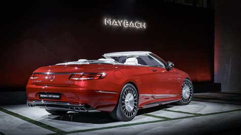 Mercedes-maybach S650 Cabriolet: Photos, Features