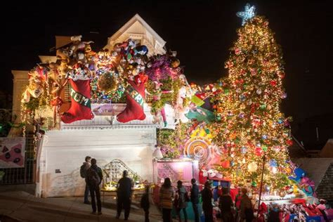 best decorated holiday houses san francisco top 30 light displays in san francisco bay area 2016 places for