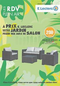 Table De Jardin Magasin Leclerc : table de jardin magasin leclerc catalogue salon de jardin ~ Melissatoandfro.com Idées de Décoration