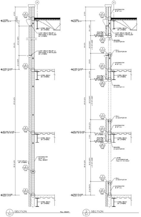 curtains ideas 187 aluminum curtain wall design guide manual