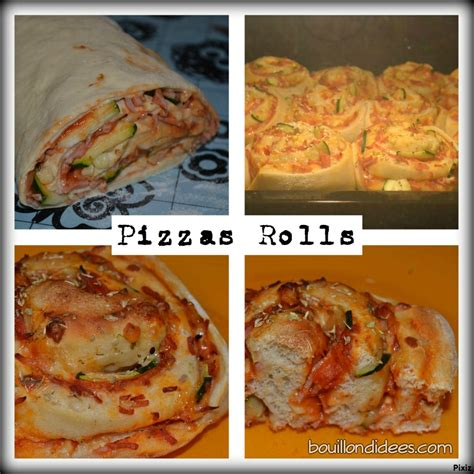 pizza rolls une recette de pizza en version quot roulé quot