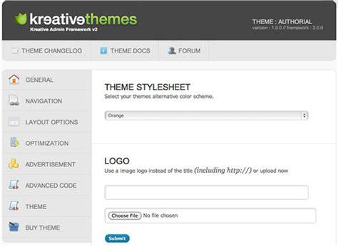 Creating A Custom Wordpress Theme Options Page